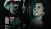 "Brad Paisley ft. Demi Lovato ""Without a Fight"""